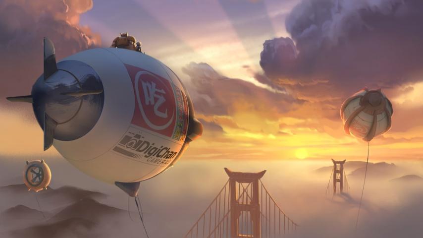 "Szene aus ""Baymax – Riesiges Robowabohu"" © Walt Disney Studios Motion Pictures Germany GmbH"