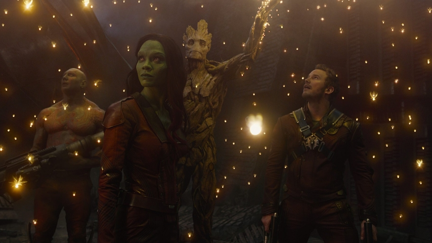 "Szene aus ""Guardians of the Galaxy"" © Walt Disney Studios Motion Pictures Germany GmbH"