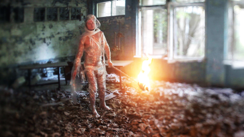 "Szene aus ""The Russian Woodpecker"" © Roast Beef Productions"