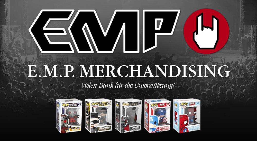 Vielen Dank für die Unterstützung! © E.M.P. Merchandising